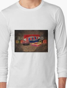 AW DO U REMEMBER THESE?? >> PICTURE AND OR CARD Long Sleeve T-Shirt