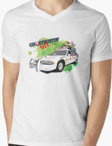 Ghostbustin' 911 Mens V-Neck T-Shirt