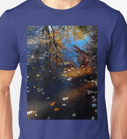 Reflecting on my past life and it doesn't have much time..The sands of time for me are running low..Life down here is just a strange illusion Unisex T-Shirt