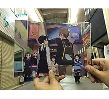 Kyoani's Real World Tamako Market  Photographic Print