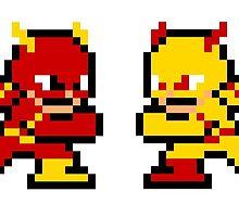 8-bit Flash & Professor Zoom by 8 Bit Hero
