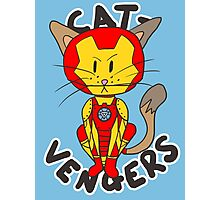 Iron Cat Photographic Print