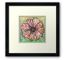 Red Poppy Framed Print