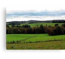 Fenced In Color, Virginia Canvas Print