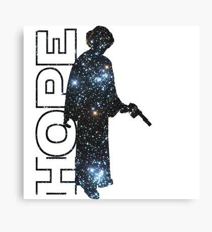 Princess Leia and Hope Canvas Print