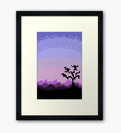 Royal Dawn Framed Print