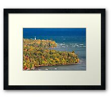 Au Sable Point Lighthouse Framed Print