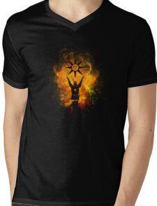 Praise the sun Art Mens V-Neck T-Shirt