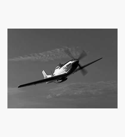 P-51D Mustang Photographic Print