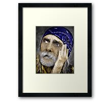 We All Need Help Sometime Framed Print