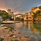 Stari Most  by Rob Hawkins