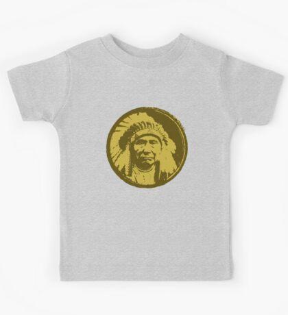 Vintage Native American Chief Kids Tee