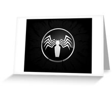 Spider Man Logo Greeting Card