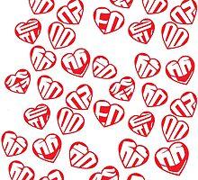 Girls Generation - All 9 Hearts  by Jason Mejia