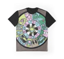 Astrological Wheel Graphic T-Shirt