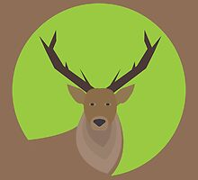 Deer Icon by junkydotcom