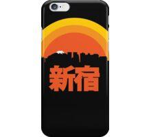 Shinjuku Sunset iPhone Case/Skin