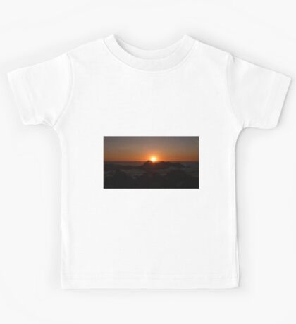 Pelicans at sunset Kids Tee