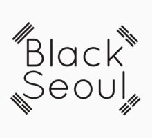 Black Seoul 2 Kids Clothes