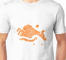 Venice Map (Orange) Unisex T-Shirt