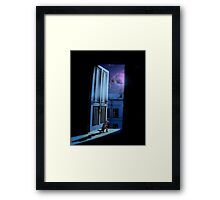 I didn't mean to scare you.  Framed Print
