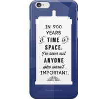900 Years iPhone Case/Skin