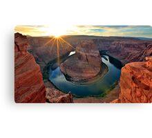 Horsehoe Bend, Page Arizona, Colorado River... Canvas Print
