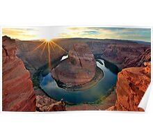 Horsehoe Bend, Page Arizona, Colorado River... Poster