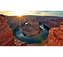 Horsehoe Bend, Page Arizona, Colorado River... Photographic Print