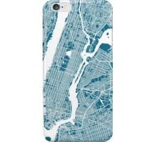 New York City Map iPhone Case/Skin