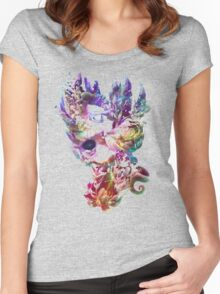 Birth and Death Women's Fitted Scoop T-Shirt