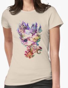 Birth and Death Womens Fitted T-Shirt