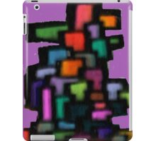 Color blocks iPad Case/Skin