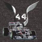 Formula 1 F1 Lewis Hamilton 44 by superpixus