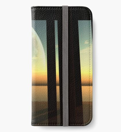 A lone explorer enjoys a moment of silence. iPhone Wallet/Case/Skin