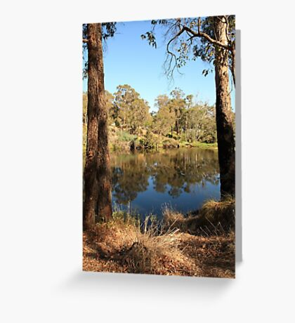 Blackwood River #3, Bridgetown, Western Australia Greeting Card