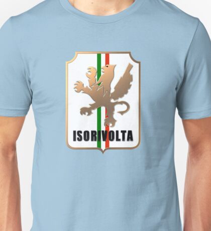 Bizzarrini ISO Rivolta Brass Badge Unisex T-Shirt