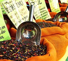 Spices - Granada Market by Ruth Durose