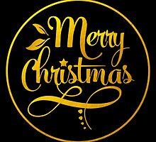 Golden Merry Christmas Script by junkydotcom