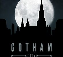 Gotham Moon by bagdesign