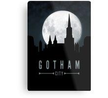 Gotham Moon Metal Print