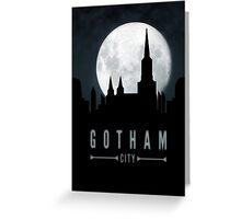Gotham Moon Greeting Card