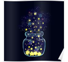 starry jar Poster