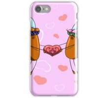 Couple in love iPhone Case/Skin