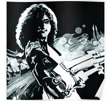 Jimmy Page. Led Zeppelin IV Remastered  Poster