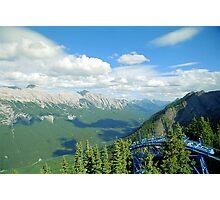 From Sulphur Mountain, High Rockies, Midsummer 1993 Photographic Print