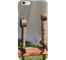 old axes and swords iPhone Case/Skin