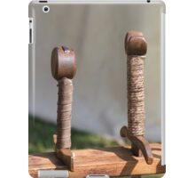 old axes and swords iPad Case/Skin