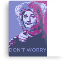 Bill Bear Murray Metal Print