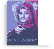 Bill bear murray Canvas Print